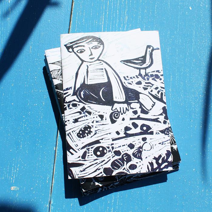 First on the Beach  A6 Coastal Notebook
