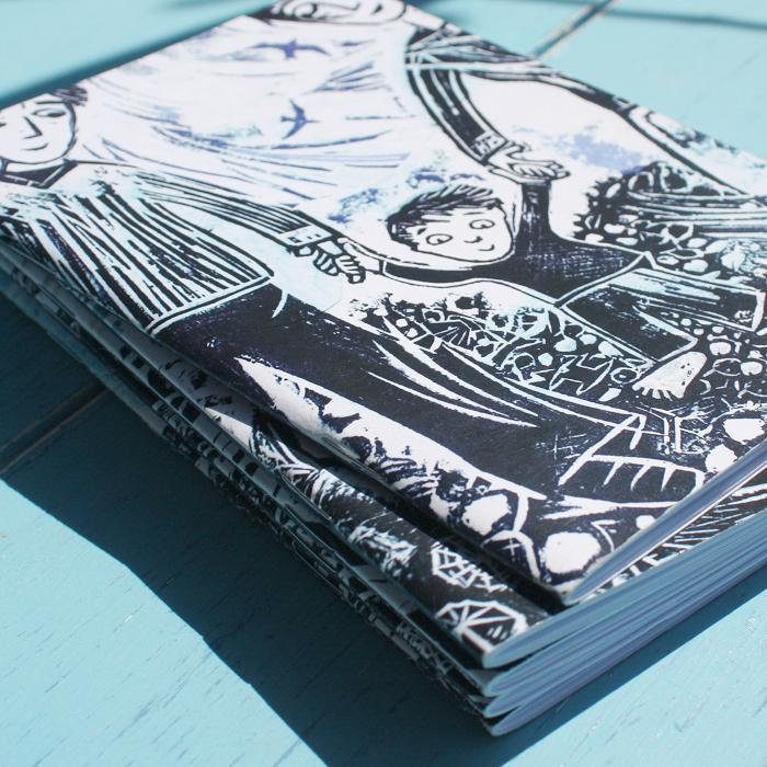 Rock a Nore  A6 Seaside Notebook