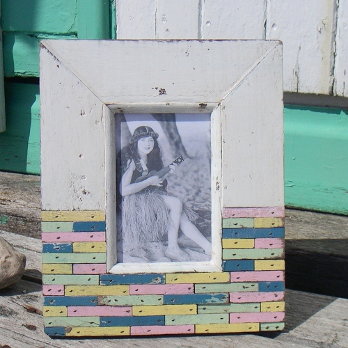 Beach Hut No: 45 - Photo Frame