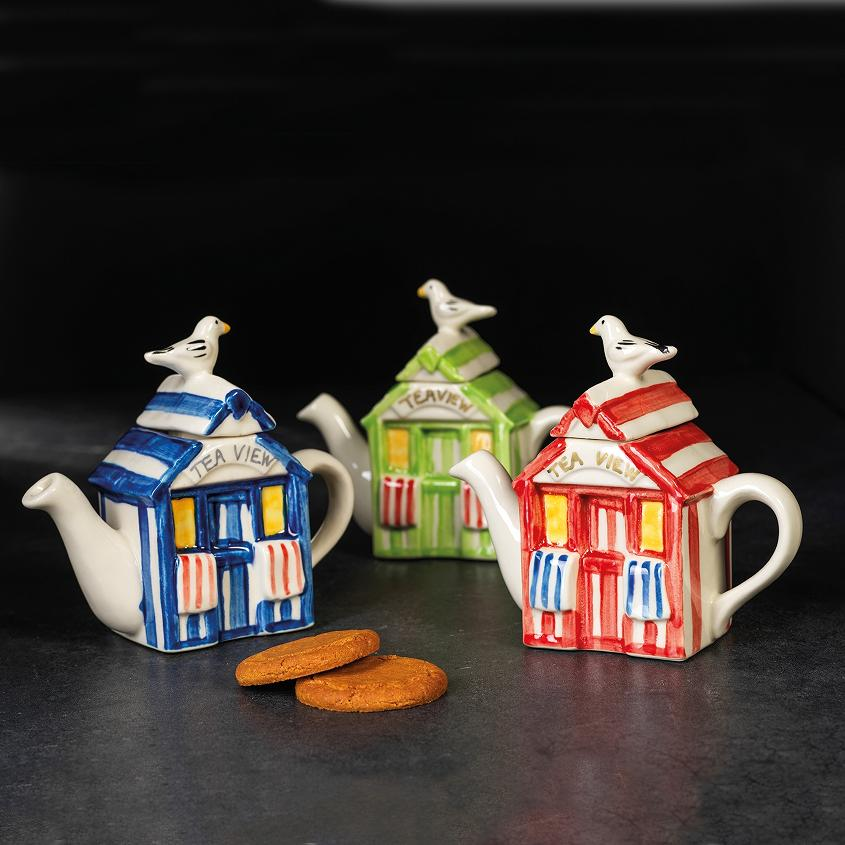 Beach Hut Teapot – one cup