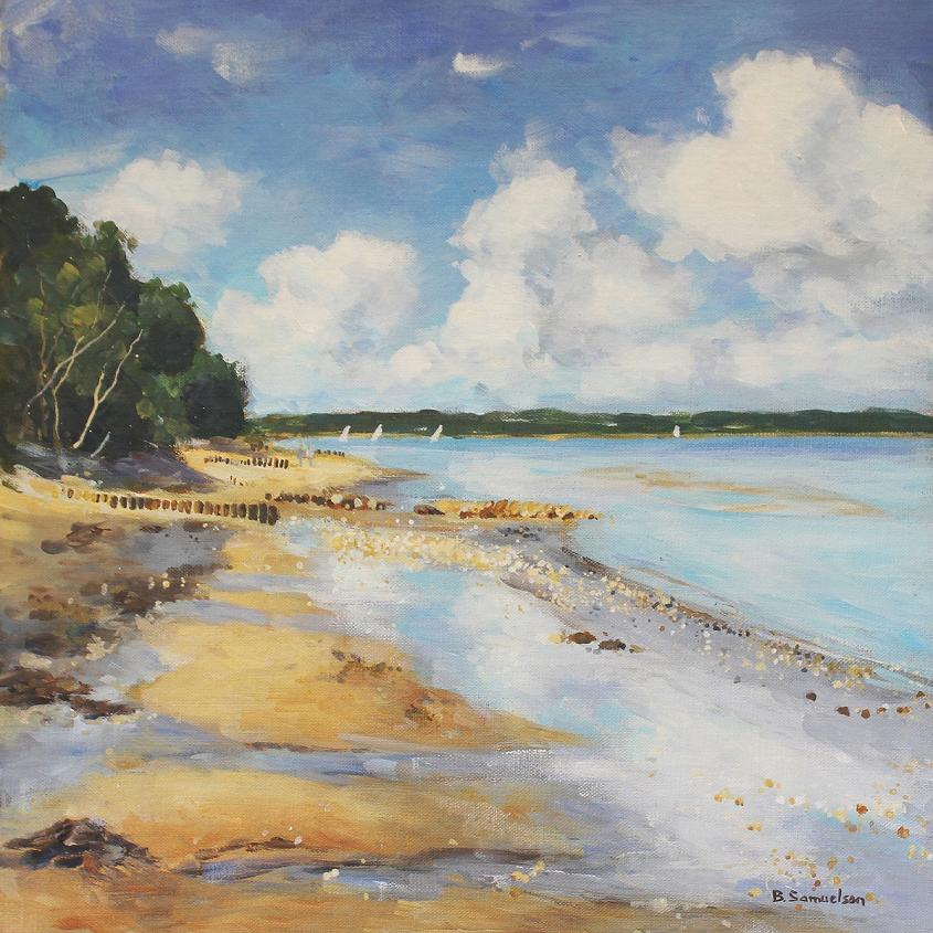 Bembridge Beach - print