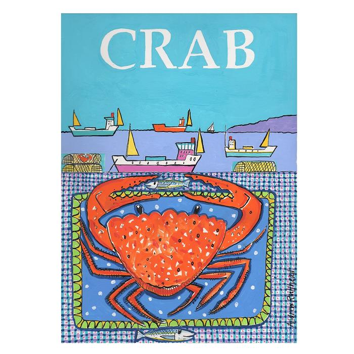 Crab by the Sea - Signed Print