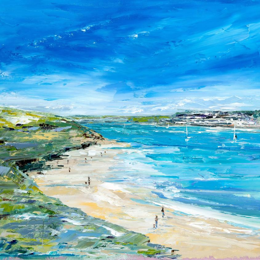Daymer Bay Beach - Print
