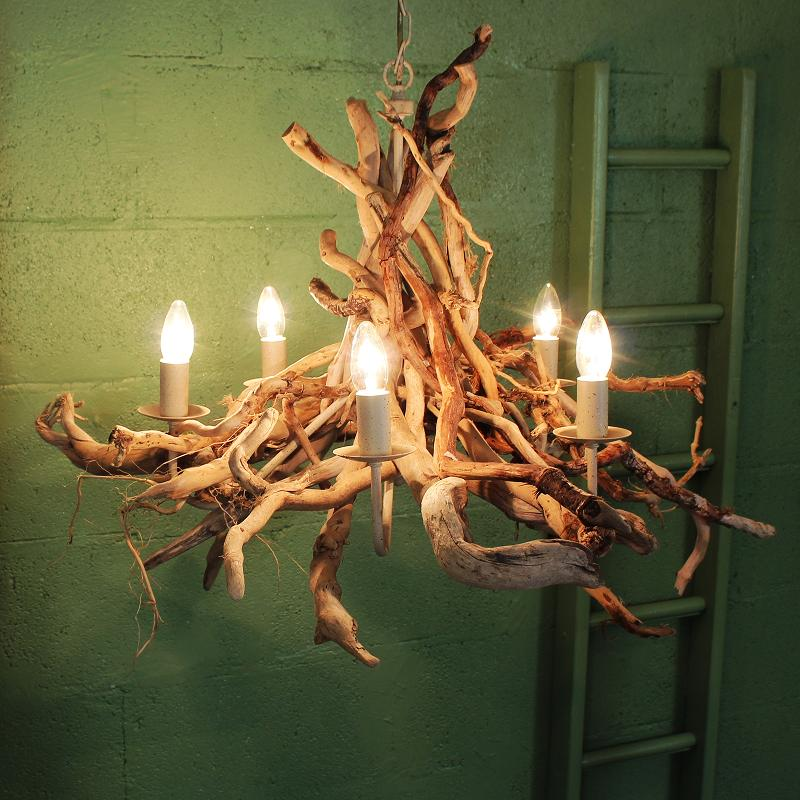 Driftwood Chandelier | Driftwood Lighting | Julia Horberry