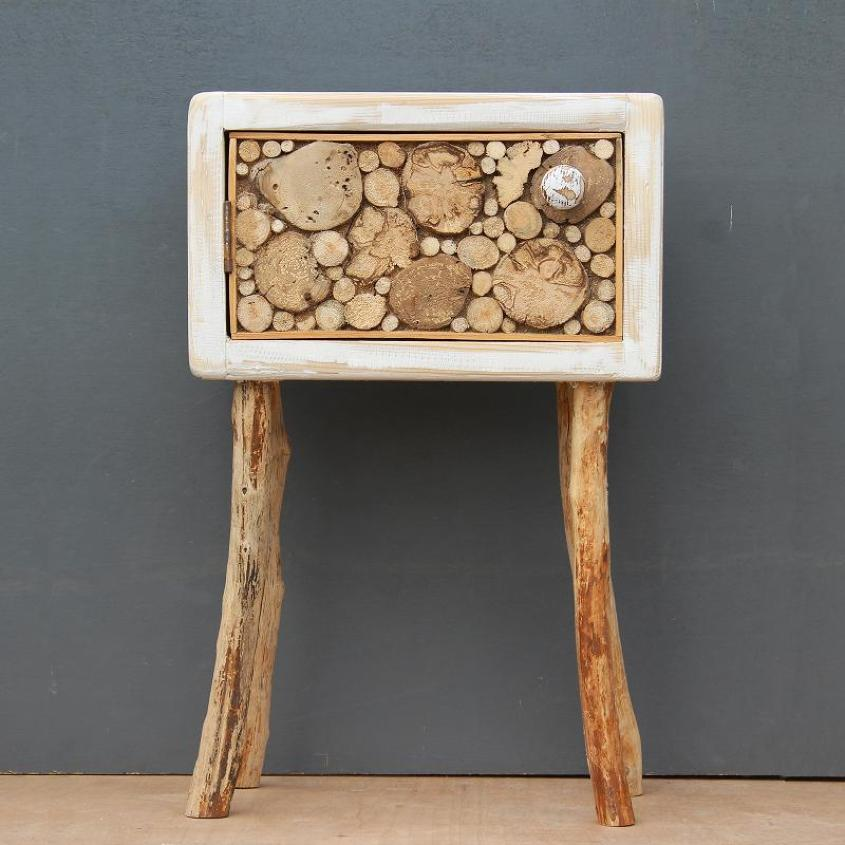 Driftwood Floor Standing Cabinet / Table