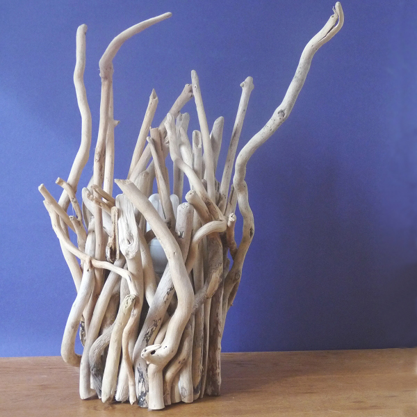 Driftwood Twig Lamps | Coastal Lighting | Driftwood Table Lamp