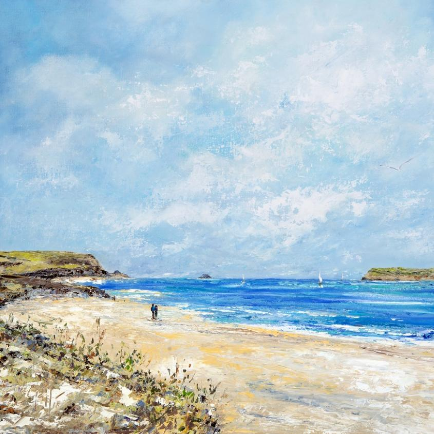 Finding the Coves Padstow | Art Print | Gail Morris