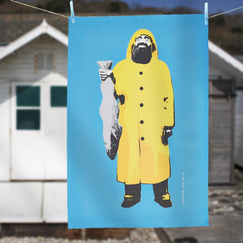 Fisherman Tea Towel