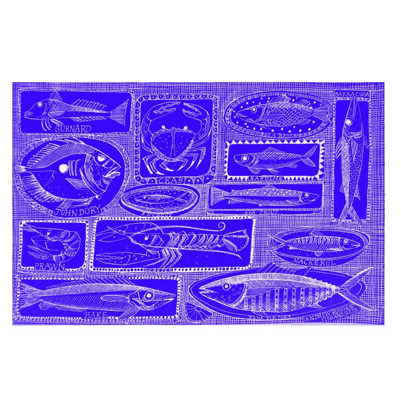 Fishes on Dishes | Fine Art Print | Andrew Ruffhead
