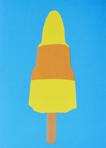 Ice Lolly Coastal Card