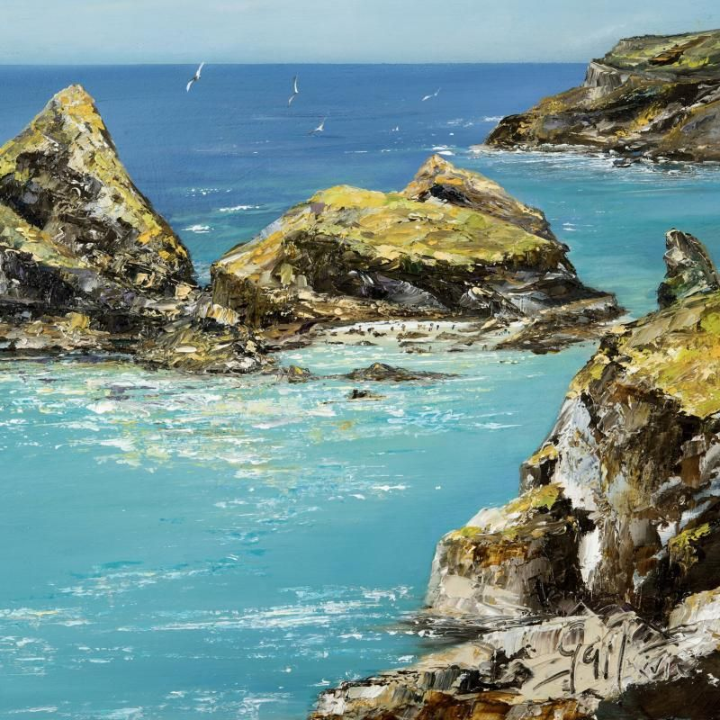 Kynance Cove | Art Print | Gail Morris