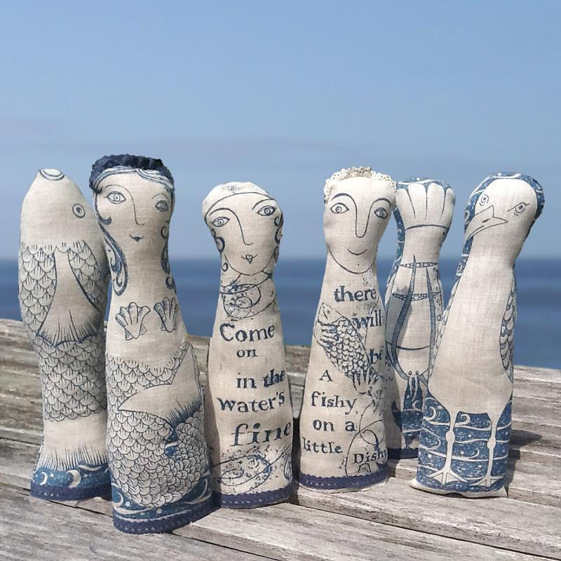 Lavender Filled Seaside Figures