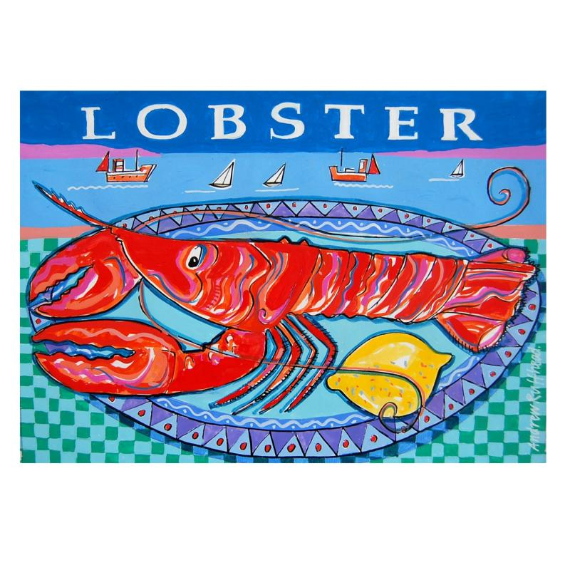 Lobster - Signed Print