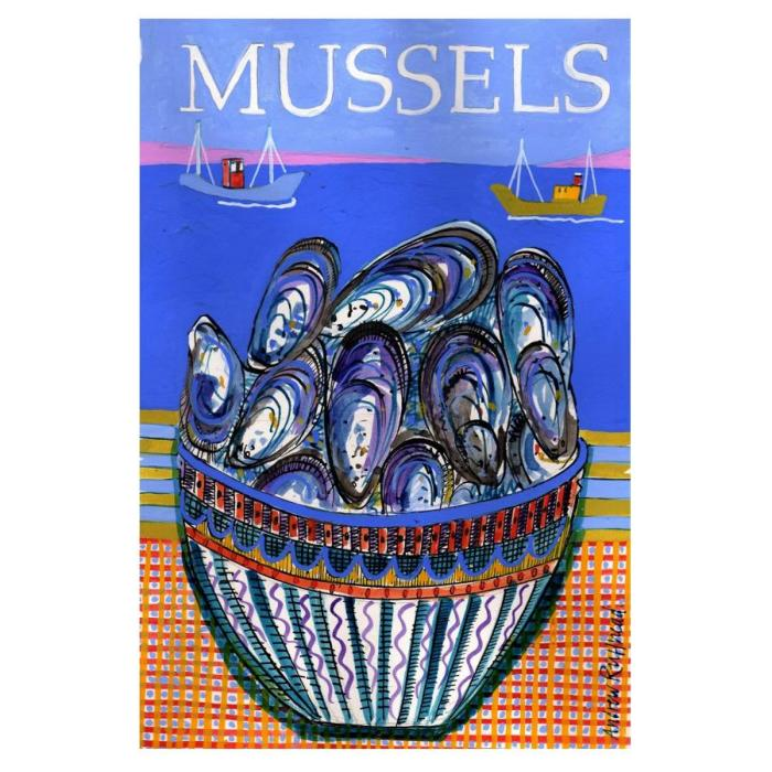 Mussels - Signed Print