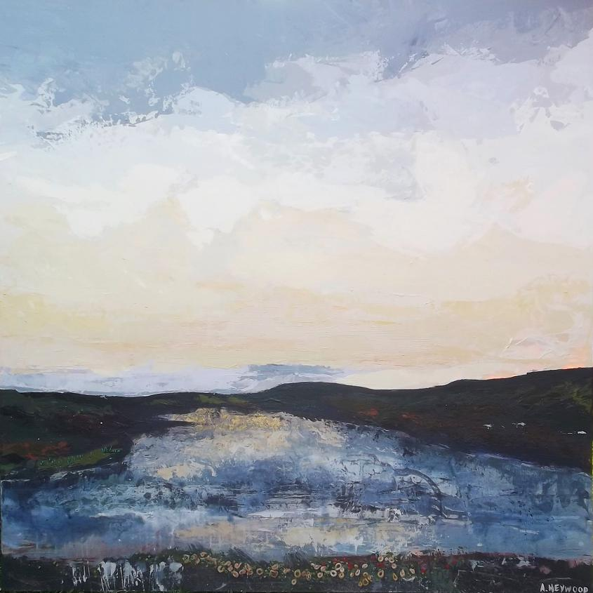 Salcombe Estuary  'Where've you gone | Original Painting | Abz Heywood