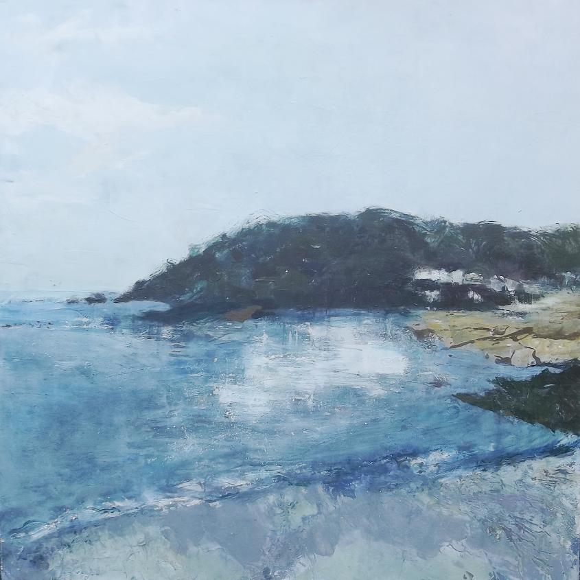Salcombe North Sands - painting