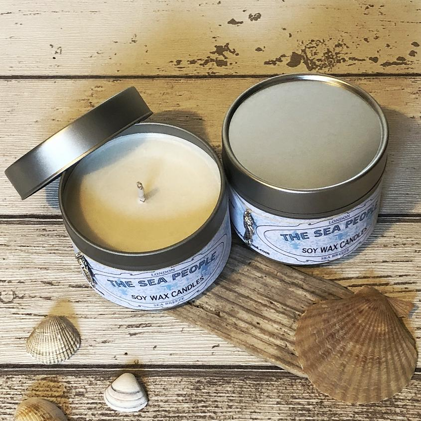 Sea Breeze Candle Tin