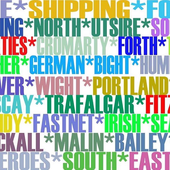 Shipping Forecast - signed print