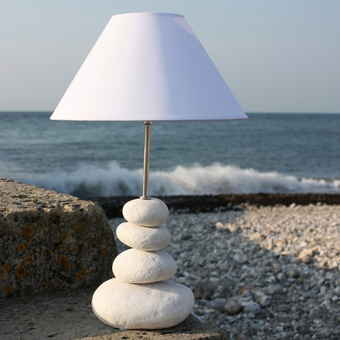 Shoreline Pebble Table Lamp