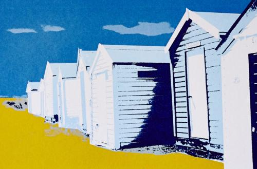 Southwold Beach Huts - Coastal Card