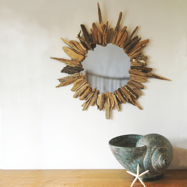Starburst Driftwood Mirror | Wall Mirror | Nautical Mirror