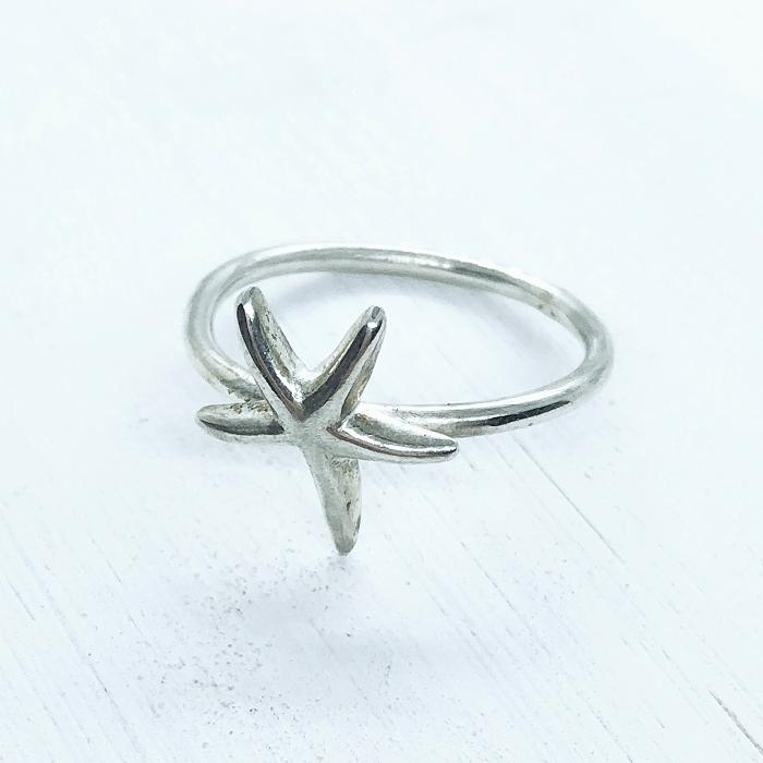 Starfish Ring |Silver Jewellery | Sarah Adams