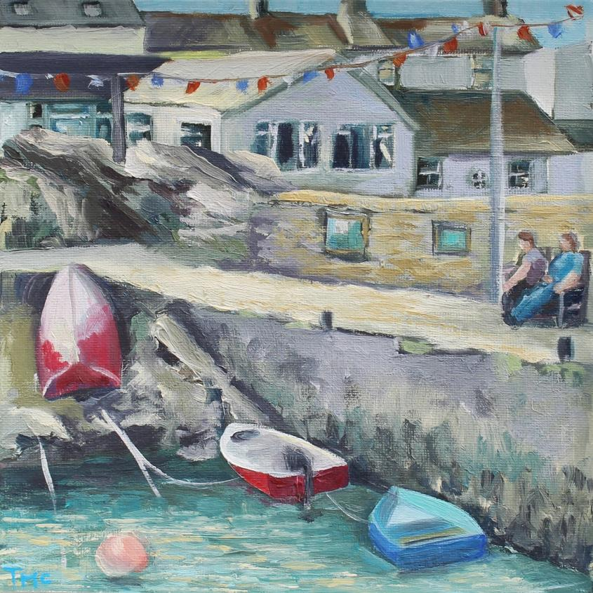 The Quayside - painting