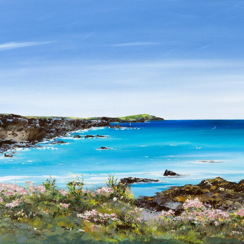 Trevone To Harlyn Bay - Print