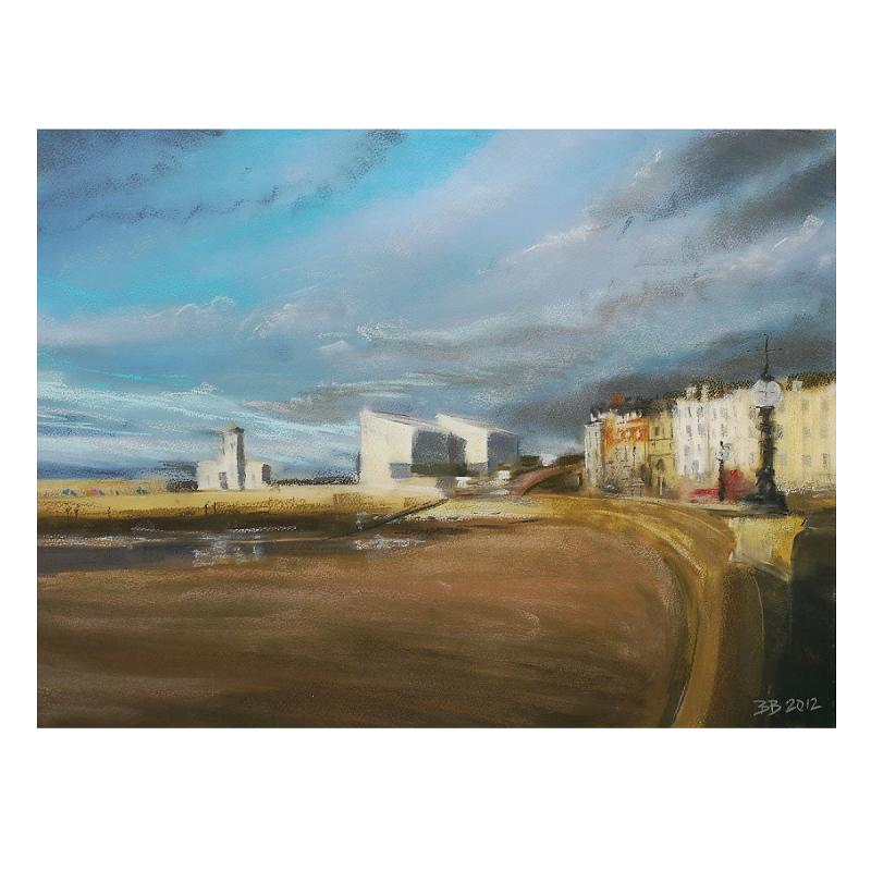 Turner Gallery Across the Beach - print